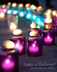 Candlelight - Light or Darkness?