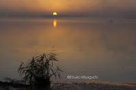 向こうから朝日 - ekkoの --- four seasons --- 北海道