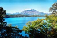 野尻湖から望む妙高 - 光 塗人 の デジタル フォト グラフィック アート (DIGITAL PHOTOGRAPHIC ARTWORKS)