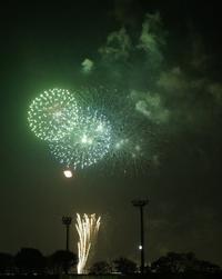 調布市花火大会(2) - M8とR-D1写真日記