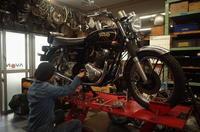 土・日・の授業風景 - Vintage motorcycle study