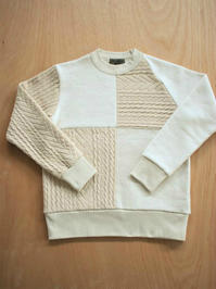 Nigel CabournFISHERMAN CREW NECK / IVORY - 『Bumpkins putting on airs』