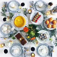 食欲の秋♡な持ち寄りパーティー - nico☆nicoな暮らし~絵付けと花とおやつ
