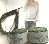 Humulus二枚目編み始め - 今、楽しいことについて。