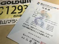 富山マラソン2018 - design room OT3
