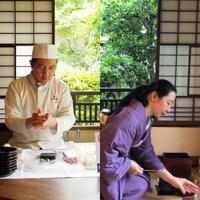 【和三盆 恵菓 × 鳴海彩詠】出来たて和菓子とお抹茶を楽しむの会・師走 - 一欅庵(いっきょあん)和の暮らし展