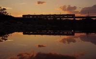 多摩川の夕暮れ - 萩原義弘のすかぶら写真日記