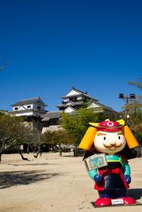 秋晴れの空と松山城 - かたくち鰯の写真日記2