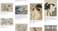 浮世絵日本画倉庫 - 風に吹かれてすっ飛んで ノノ(ノ`Д´)ノ ネタ帳