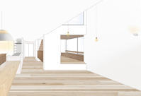 室内パース - atelier kukka architects