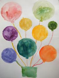 9月10月日曜クラス(小学生)の様子☆ - 絵画教室アトリえをかく