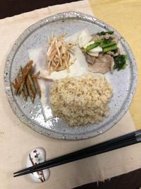 大根サラダ - 庶民のショボい食卓
