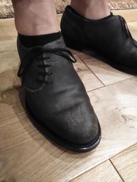【Hiroshi Arai】Guidiレザーのオーダーシューズ、Model:Ninja1 - Shoe Care & Shoe Order 「FANS.浅草本店」M.Mowbray Shop