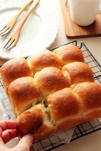 【レシピ】てんさい糖で「しっとりふわふわシンプルちぎりパン」 - Takacoco Kitchen