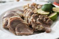 塩豚のダッチオーブン焼き - 登志子のキッチン