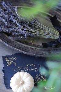 Happy halloween! - Le vase*  diary 横浜元町の花教室
