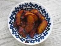 【自作】リンゴのキャラメル煮 - 池袋うまうま日記。