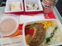 ◆ 機内食、その60「ソウル」へ(2018年6月) - 空と 8 と温泉と