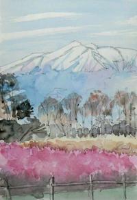 御嶽山冠雪 - ryuuの手習い