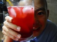 ローゼルのサイダー&猪の焼き肉 - チルチルCafe&野遊び