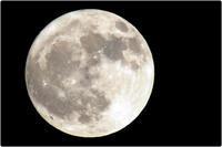 由布市で観た満月 - 写真画廊 ナカイノブカズ 2