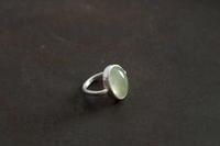 プレーナイトリング - 石と銀の装身具