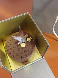 ブルガリのチョコレートケーキ - ★ Eau Claire ★ Dolce Vita ★