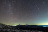塩見岳と間ノ岳と北の星たち - **photo cafe**