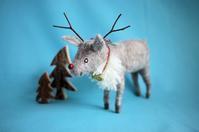 トナカイさん - こひつじ的生活~羊毛フェルトで作る小さな世界