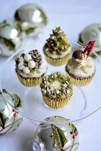 クリスマスカップケーキレッスン12月1、2日増設のお知らせ - Misako's Sweets Blog