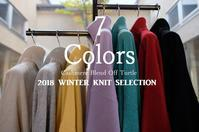 """New Arrival!! 2018 Winter Knit Selection~7 Colors...11/1thu"" - SHOP ◆ The Spiralという館~カフェとインポート雑貨のある次世代型セレクトショップ~"