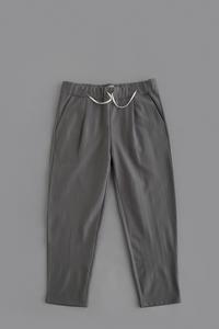 STILL BY HAND Wool Jersey Easy Pants (Grey) - un.regard.moderne