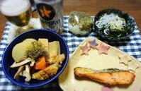 11/1(木)大根の煮物と息子とお昼ご飯 - 今日のごはんと飲み物日記
