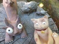 『猫とシーサー置物展』のお知らせ - アオモジノキモチ