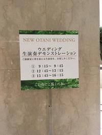 ウエディングフェア - 赤坂・ニューオータニのヘアサロン大野ザメイン店ブログ
