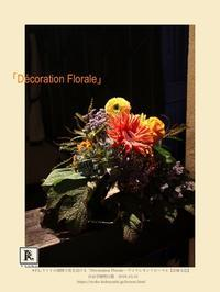 今期の初回、新しい方も加わり、季節の花を生けました🍁✨ - Bouquets_ryoko