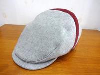 ウール素材のハンチング - 帽子店 Chapeaugraphy