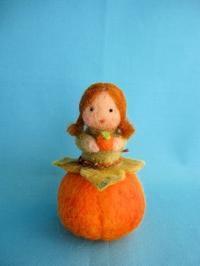 柿の実ちゃん&ナマケモノのリクエストをくださった方へ - こひつじ的生活~羊毛フェルトで作る小さな世界