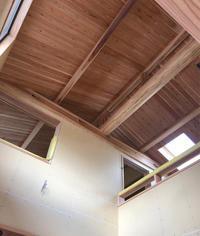 ポンちゃんの家進捗状況11 - 国産材・県産材でつくる木の住まいの設計 FRONTdesign  設計blog