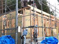 平屋建てのFPの家、建て方を行いました。 - 現場日誌