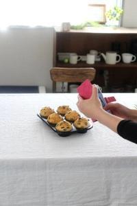 日本一適当なパン教室~かぼちゃマフィン*講座~レポート① - ちぎりパン 日本一簡単なパン教室 Backe