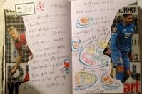 ハンガリー絵日記ノート その3 - 石のコトバ