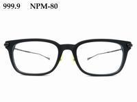 """【999.9】""""シームレス・スタイル""""を意識したNPMモデル「NPM-80」 - 自由が丘にあるフレンチテイスト眼鏡店ボズューブログ"""