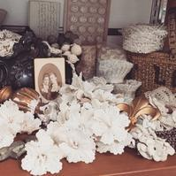 パリの蚤の市から代官山へ*クロシェのお花たち - BLEU CURACAO FRANCE