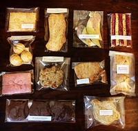 11月のメニューはすべて10%offにさせていただきます!ミトラカルナさんの焼菓子(7周年バージョン)が並びます♪ - miso汁香房(ロジの木)