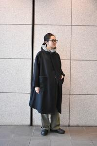 Yarmo::Melton Rap Coat - JUILLET