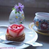 紅玉りんごで薔薇タルト~♪ - アリスのトリップ