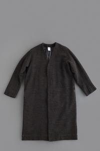 NO CONTROL AIR W/C Doubleface Knit Long Cardigan - un.regard.moderne