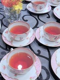 紅茶の日を楽しみました - BEETON's Teapotのお茶会
