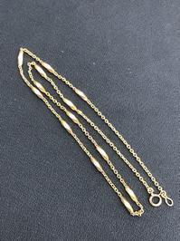 K18のネックレスをお買取しました! - 買取専門店 和 店舗ブログ